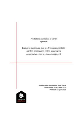 thumbnail of Enquête prestations sociales-logement_septembre 2020