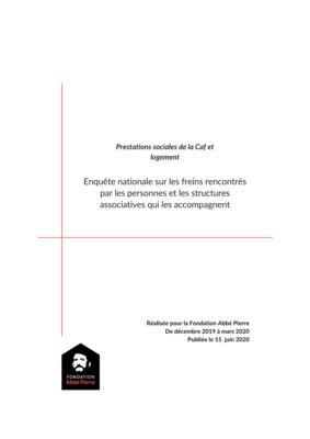 thumbnail of Enquête prestations sociales-logement_septembre 2020