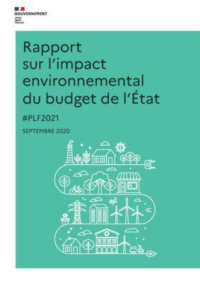 thumbnail of Rapport sur l'impact environnemental du budget de l'État
