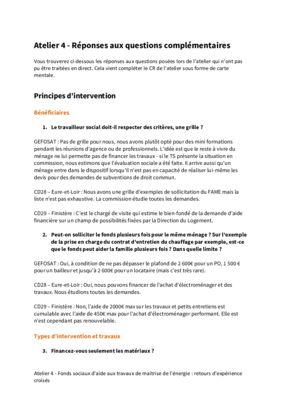 thumbnail of CR Atelier FSATME – questions complémentaires